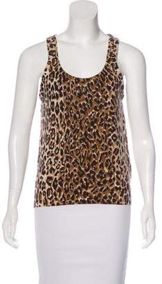 Dolce & Gabbana Cashmere Sleeveless Top