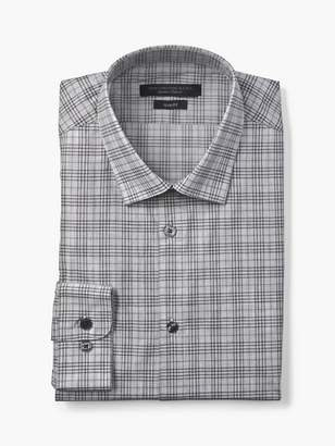 John Varvatos Slim Fit Melange Check Dress Shirt
