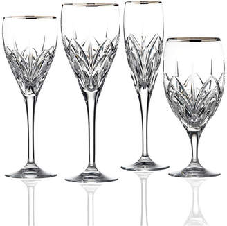 Marquis by Waterford Stemware, Caprice Platinum Collection