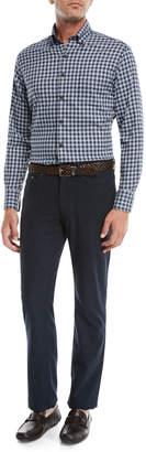 Peter Millar Side Flannel 5-Pocket Pants
