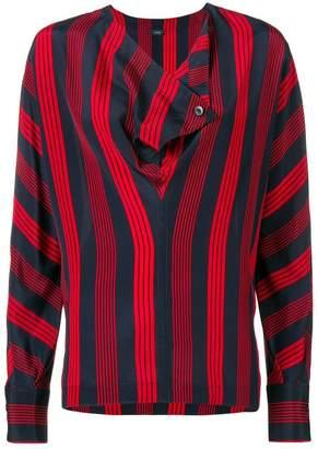 Joseph Leigh striped blouse