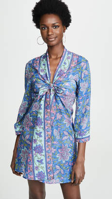 Bell Tie Kimono Dress