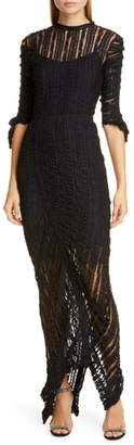Preen by Thornton Bregazzi Ellison Stretch Lace Gown