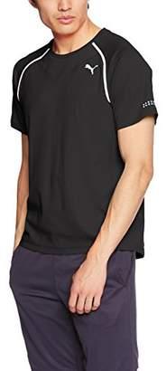 Puma (プーマ) - [プーマ] ランニングウェア PWRRUN ADAPT THERMO-R Tシャツ [メンズ] 516903 ブラック (01) 日本 S (日本サイズS相当)