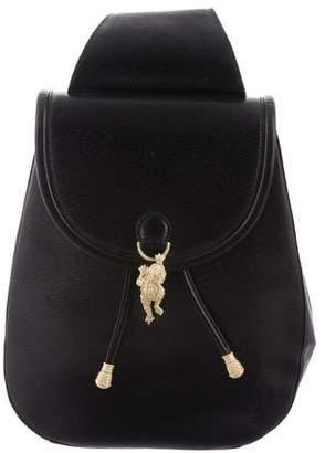 Kieselstein-Cord Sling Leather Backpack