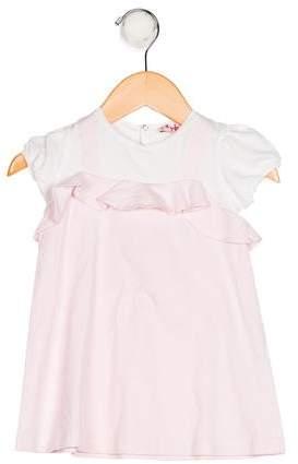 Il Gufo Girls' Knit Shift Dress