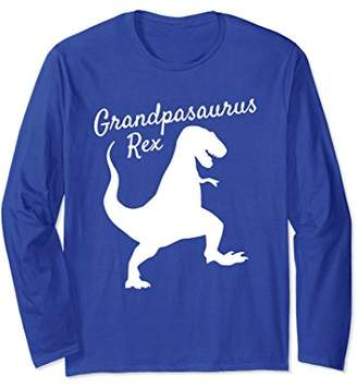 Grandpasaurus Rex Long Sleeve Shirt Family Dinosaur Pajamas