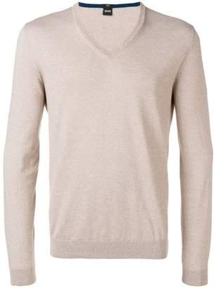 HUGO BOSS slim-fit pullover