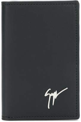 Giuseppe Zanotti Design tall bifold card holder