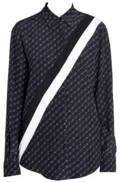 Stella McCartney Stella Monogram Button-Down Wilson Shirt