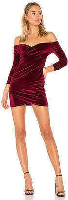 by the way. Marie Ruched Mini Dress
