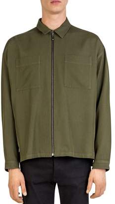 The Kooples Forest Link Zip Shirt