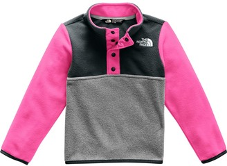 The North Face Glacier 1/4-Snap Fleece Jacket - Toddler Girls'