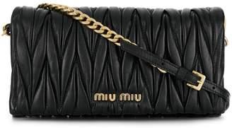 Miu Miu (ミュウミュウ) - Miu Miu matelassé crossbody bag