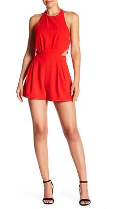Do & Be Do + Be Open Back Halter Romper