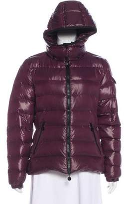 Moncler Zip-Up Down Jacket