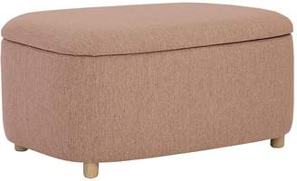 Iniko Promotions Erina Ottoman, Large, Oak Brown