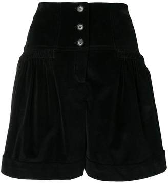 Alberta Ferretti front button shorts