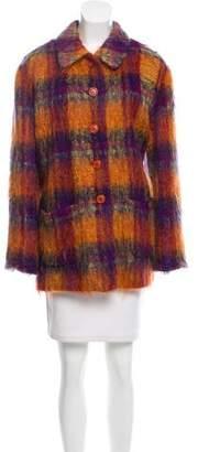 Kenzo Mohair & Wool Coat
