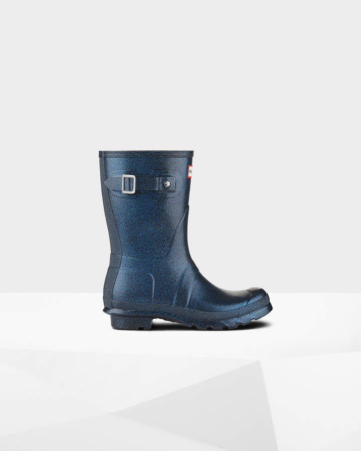 Hunter Women's Original Short Starcloud Rain Boots
