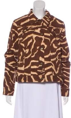 Lauren Ralph Lauren Printed Jean Jacket