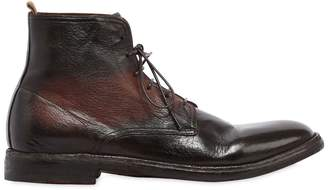 Officine Creative Leather Lace-Up Boots