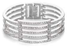 Adriana Orsini Open Pave Bracelet