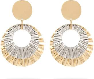 Isabel Marant Disc Earrings - Womens - Gold