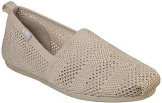 Skechers BOBS FROM  Womens Bobs Plush Closed Toe Slip-On Shoe