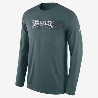 Nike Dri-FIT Legend Seismic (NFL Eagles) Men's Long Sleeve T-Shirt