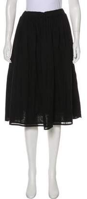 Organic by John Patrick Woven Knee-Length skirt