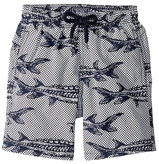 Vilebrequin Kids Belle Ou Gars Jim Fish Printed Trunks (Toddler/Little Kids/Big Kids)