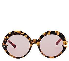 3645256c4bc5 Karen Walker Women s Romancer 56MM Round Sunglasses