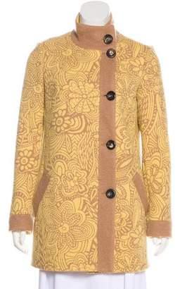 Missoni Knit Wool Coat