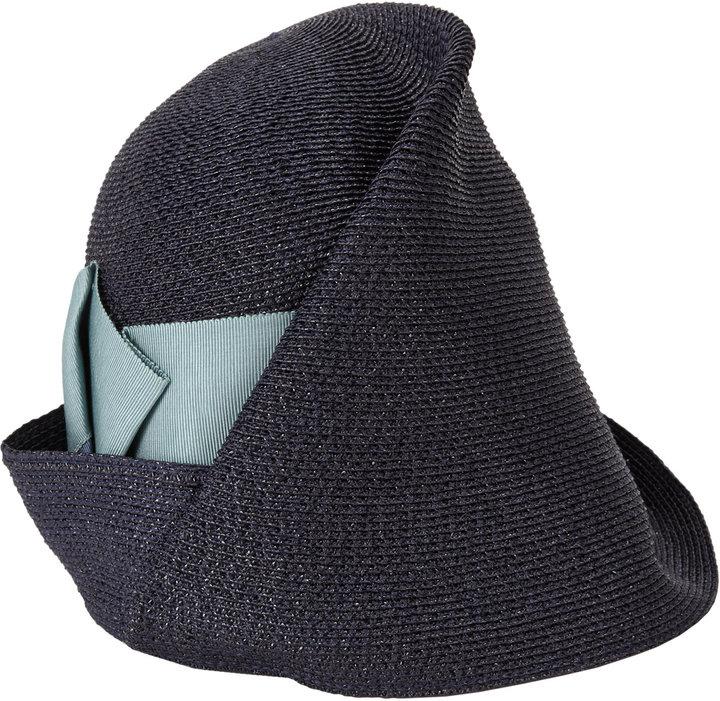 "Albertus Swanepoel ""Amelia"" Cloche Hat"