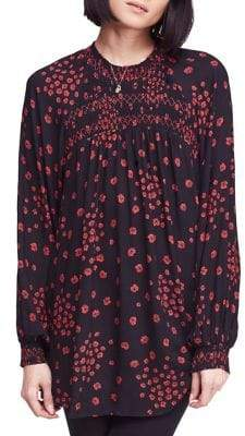 Free People Classic Floral Tunic