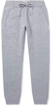 644f77409415 Reigning Champ Slim-Fit Tapered Fleece-Back Melange Cotton-Blend Jersey  Sweatpants -