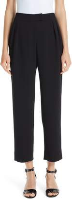 Emporio Armani Straight Crop Pants