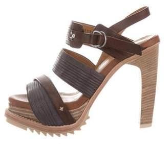 Rag & Bone Crossover Platform Sandals