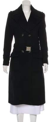 Versace Long Sleeve Long Coat