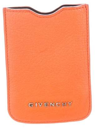 Givenchy Leather Phone Case