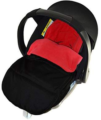 Universal Car Seat Footmuff to Fit Mamas and Papas Cybex Aton Car Seat Fire Red