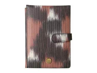 Lodis Boho Passport Wallet with Ticket Flap