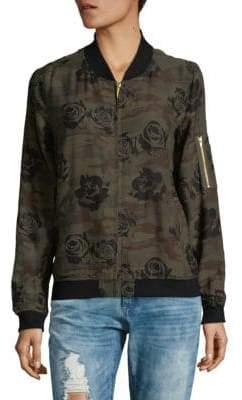 Sanctuary Floral Bomber Jacket
