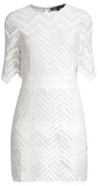 Maje Lace Sheath Dress