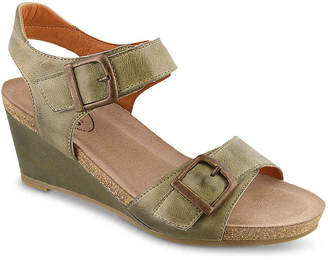 Taos Buckle Up Wedge Sandal - Women's