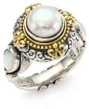 Konstantino Mother-of-Pearl Ring