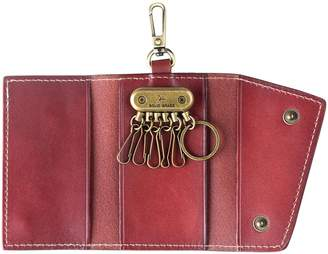 Ancicraft Key Case Leather Keychains Card Holder Bag Wallet Gift