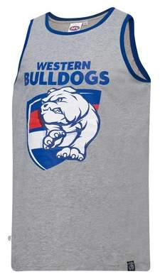 Majestic Western Bulldogs Cotton Tank Singlet