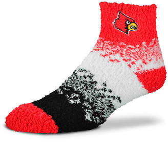 For Bare Feet Louisville Cardinals Marquee Sleep Soft Socks